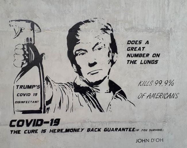 Quand le Covid inspire le Street Art... Captur15