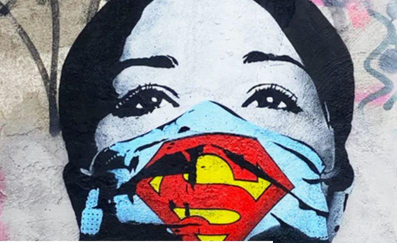 Quand le Covid inspire le Street Art... Captur16