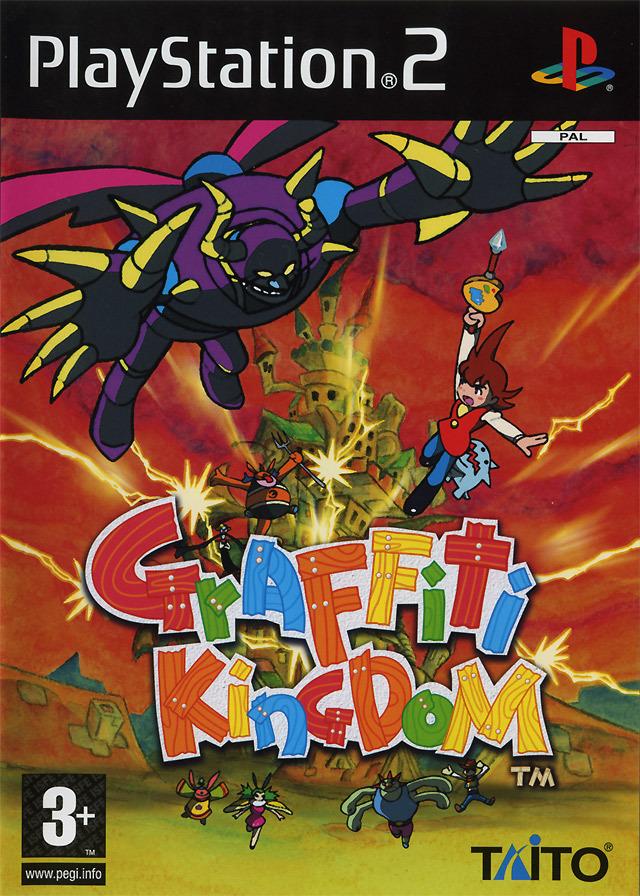 Les graffitis à l'honneur dans les jeux vidéo ! Gftkp210