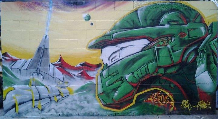 le jeu video en mode street art!! Image710