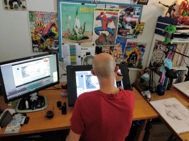 Entretien exclusif C.S n°4: Lionel Pigaglio ,Formateur et illustrateur de jeux Dreamcast et Switch ! Img-2109
