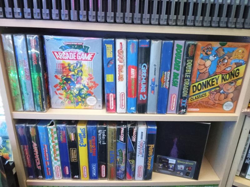 collection nintendo NES de Gnagnaa Img20260