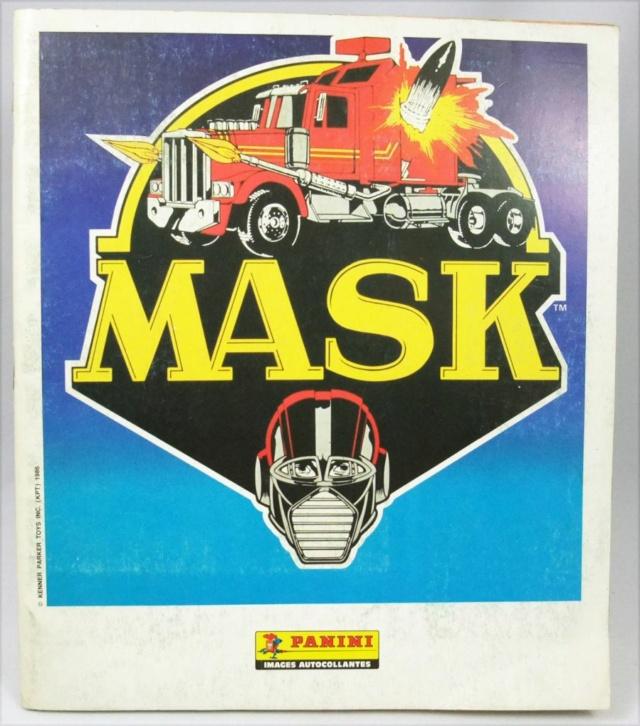 les albums Panini Mask--10
