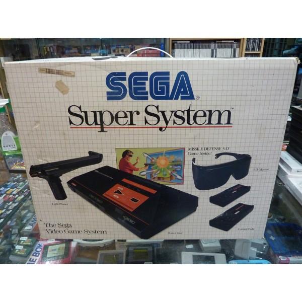 (SMS) Les jeux compatibles sega glass 3d sur master system !! Master10