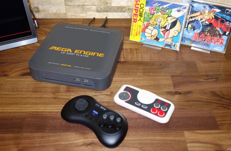 la nouvelle MEGA ENGINE (pc engine et mega cd réunis) Megaen10