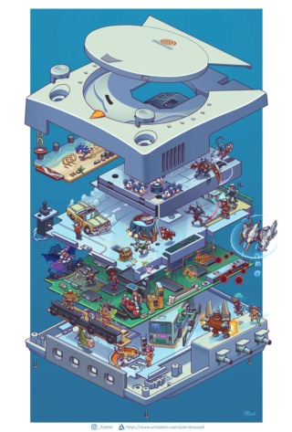 Entretien exclusif C.S n°1 de l'artiste gamer PIERRE ROUSSEL  ! Pierre15