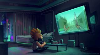 Entretien exclusif C.S n°1 de l'artiste gamer PIERRE ROUSSEL  ! Pierre19