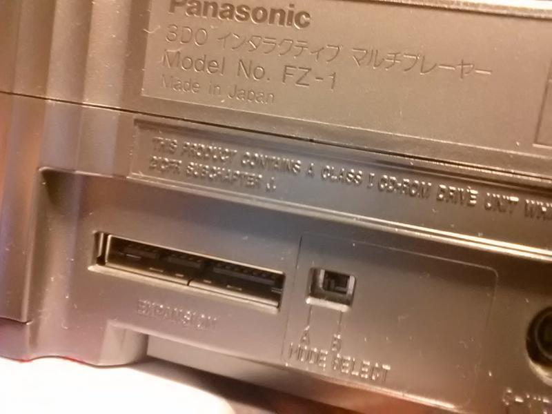 (3do) Le switch d'origine  480i /240p sur les panasonic Fz1 jap Post-210