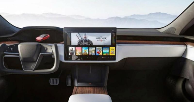 Tesla : la marque automobile qui pense aux gamers ! Sansti10