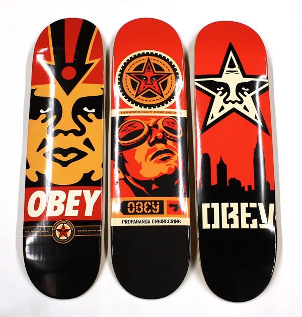 Shepard Fairey : artiste issu du milieu du skateboard! Skate-10