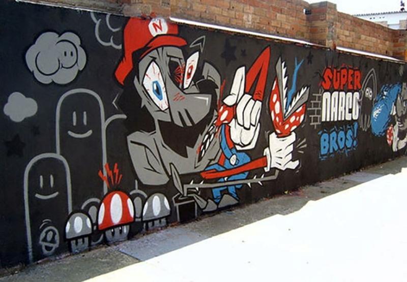 le jeu video en mode street art!! Super-10