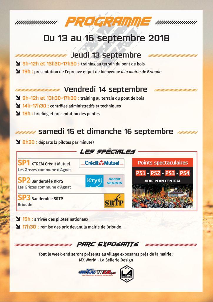 ENDURO - Championnat de france finale Brioude Progra10