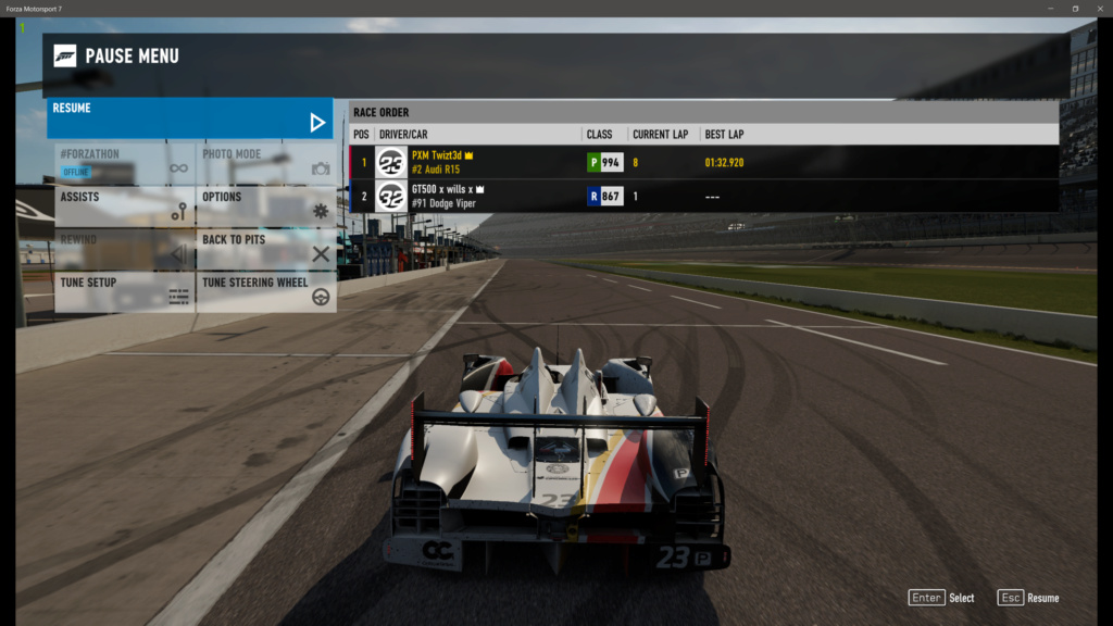 TEC R1 24 Hours of Daytona - P Class 107% Verification Forza_18