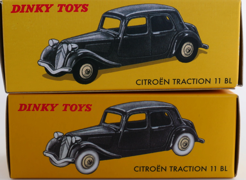 dinky ATLAS les tractions 24N Citroz25