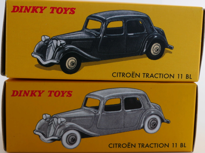 dinky ATLAS les tractions 24N Citroz29