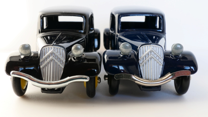 dinky ATLAS les tractions 24N Citroz40