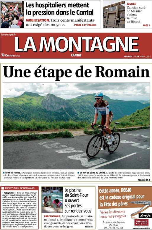 Tour de France 2020 : Arrivée au Pas de Peyrol (Puy Mary) - Page 6 Bardet10