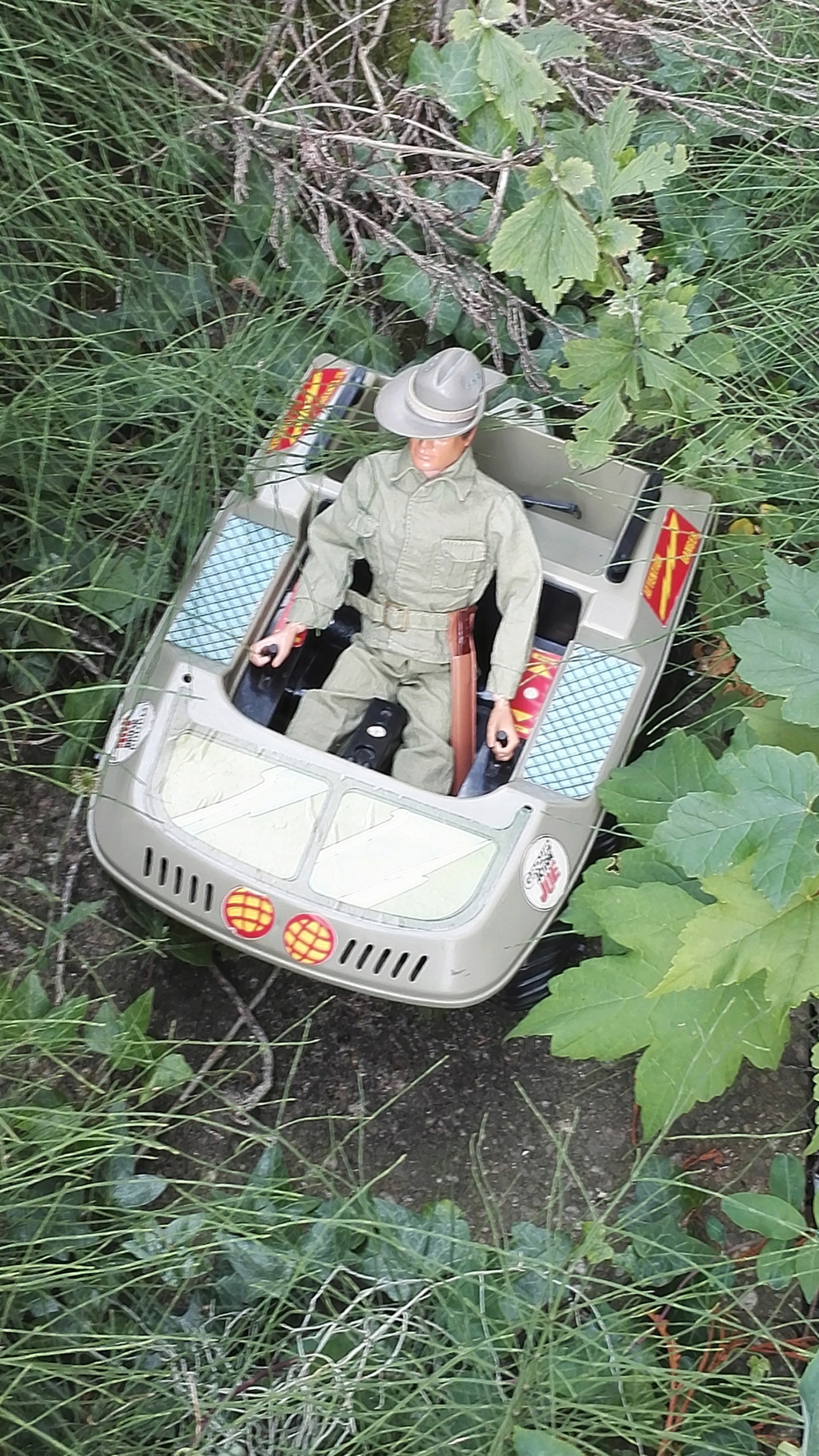 ATV with Tropical uniformed figure  Img_2010