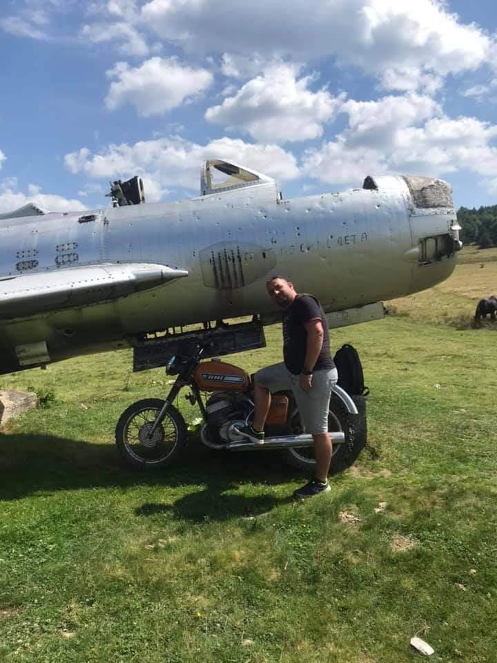 La motocyclette de l'air 14406510