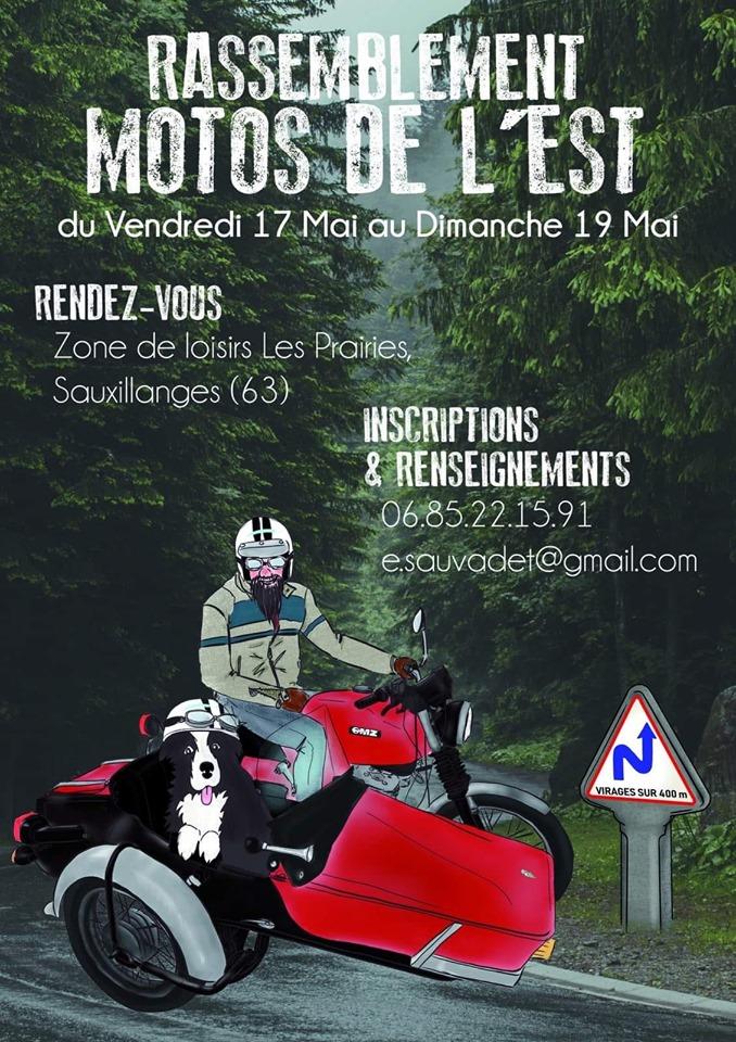 rassemblement motos de l'est Sauxillanges 63 60096210