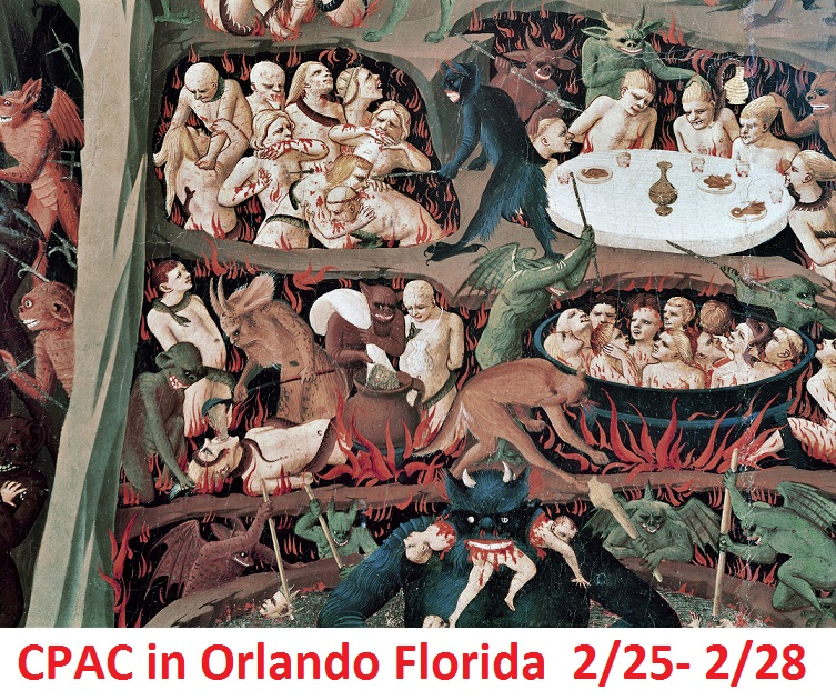 CPAC-2021 at Orlando Florida. 2/25/21 to 2/28/21 Leave Your Soul at Home. Cpac_i10