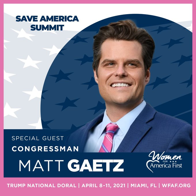 MATILDA...er  MATT GAETZ THINKS OF LEAVING CONGRESS.  Eyufkj10