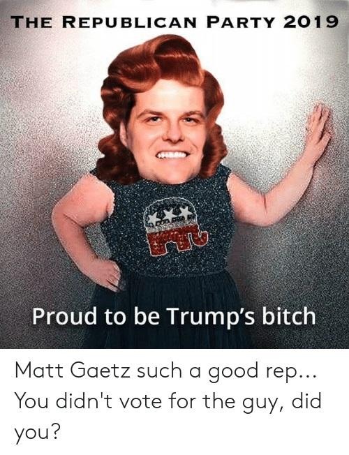 Matt Gaetz, Florida's Own Trumpenis - Page 4 Matt_g14