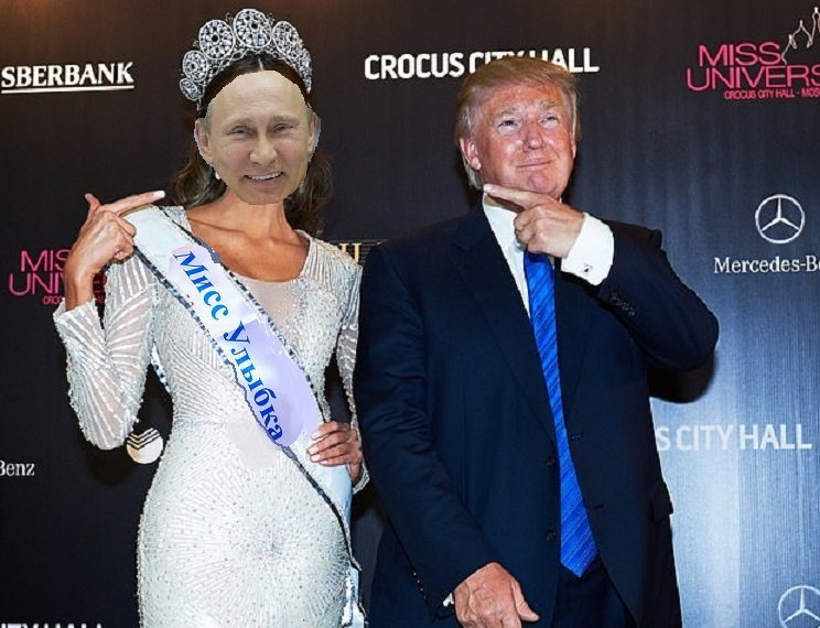 TRUMP and MISS MOSCOW : REPORT EXAMINES POSSIBLE COMPROMISES IN RUSSIAN TRIPS Trump_37