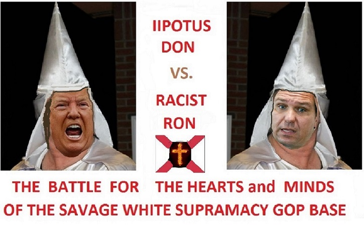 Racist Ron DeSantis Wants Props For Covering Up COVID Deaths And Data Trump_41
