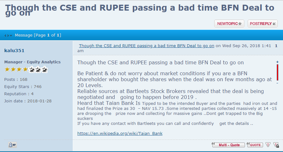 Forum rules & BFN351  Rf10