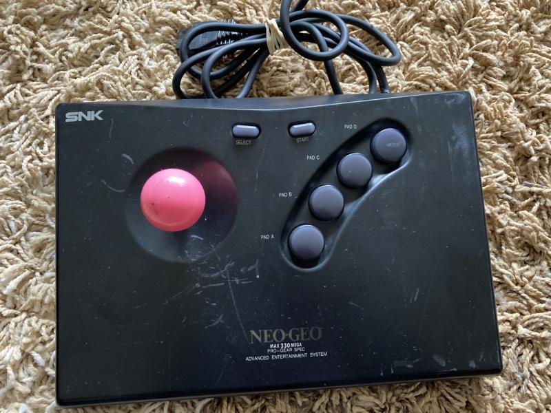 [VDS] Jeux et Sticks Neo Geo AES  A12db510