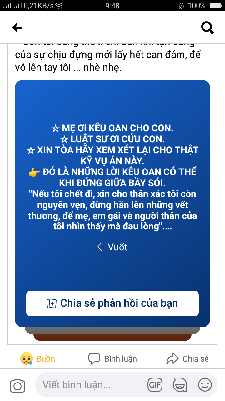 Án Oan Hồ Duy Hải  Screen11