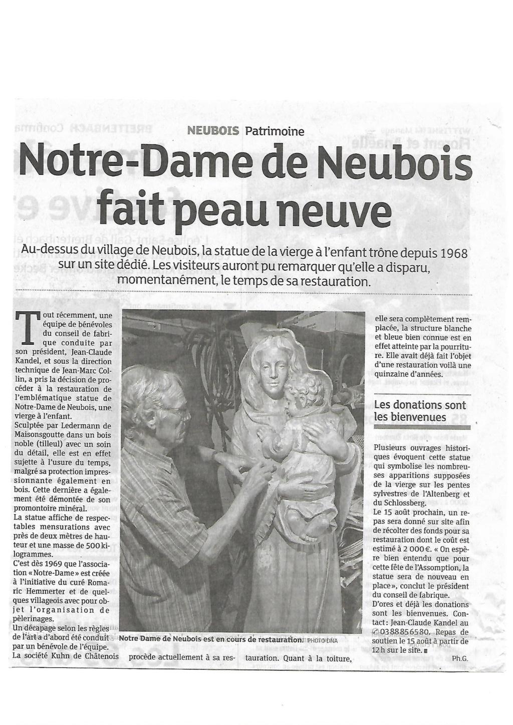 APPARITIONS EN ALSACE DES LE 7 JUILLET 1872- LE FRANKENBOURG - Page 5 Artick10