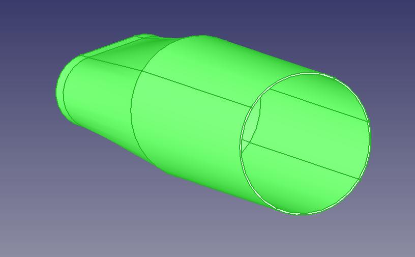 Freecad créer un embout aspirateur Captur39