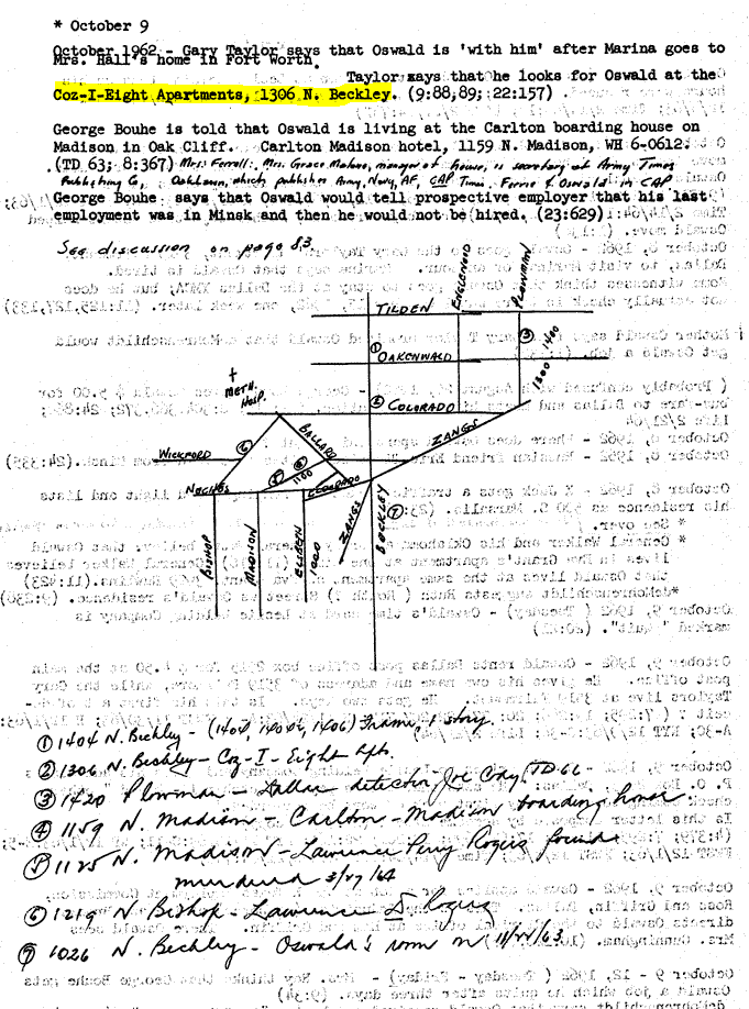 Did Oswald deny living at 1026 N Beckley?  - Page 6 Beckle15