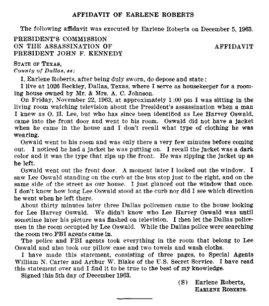 Did Oswald deny living at 1026 N Beckley?  - Page 7 Earlen12