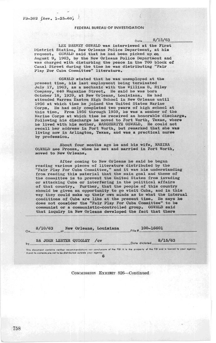 Alleged Oswald Aliases Fbi_no12