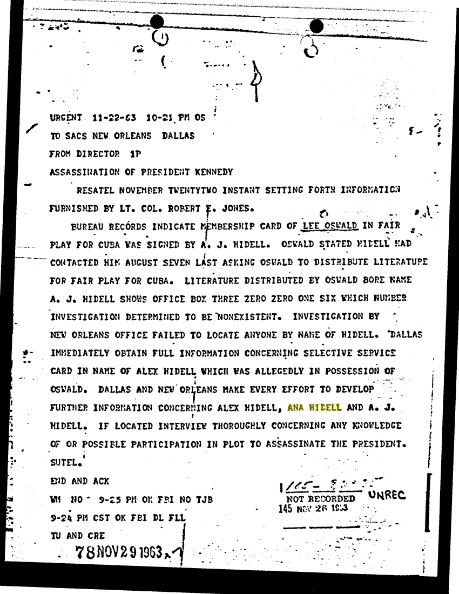 Alleged Oswald Aliases Fbi_te12