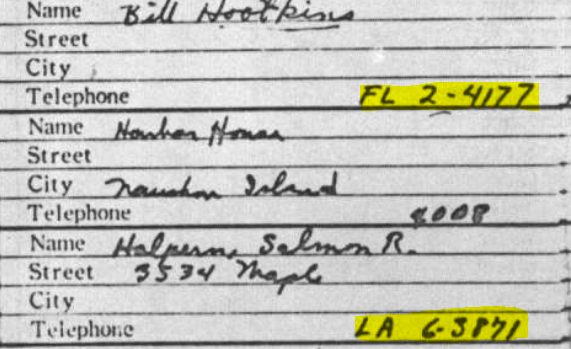 Did Oswald deny living at 1026 N Beckley?  - Page 5 Ruth_a13