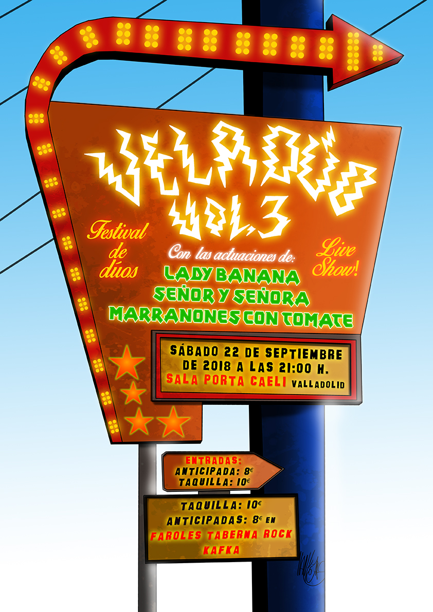 Veladúo festival dúos en Valladolid 16/17 octubre, camisetas todas vendidas. Cartel10