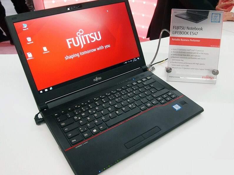 Laptop Fujitsu Lifebook E547 project 10422110