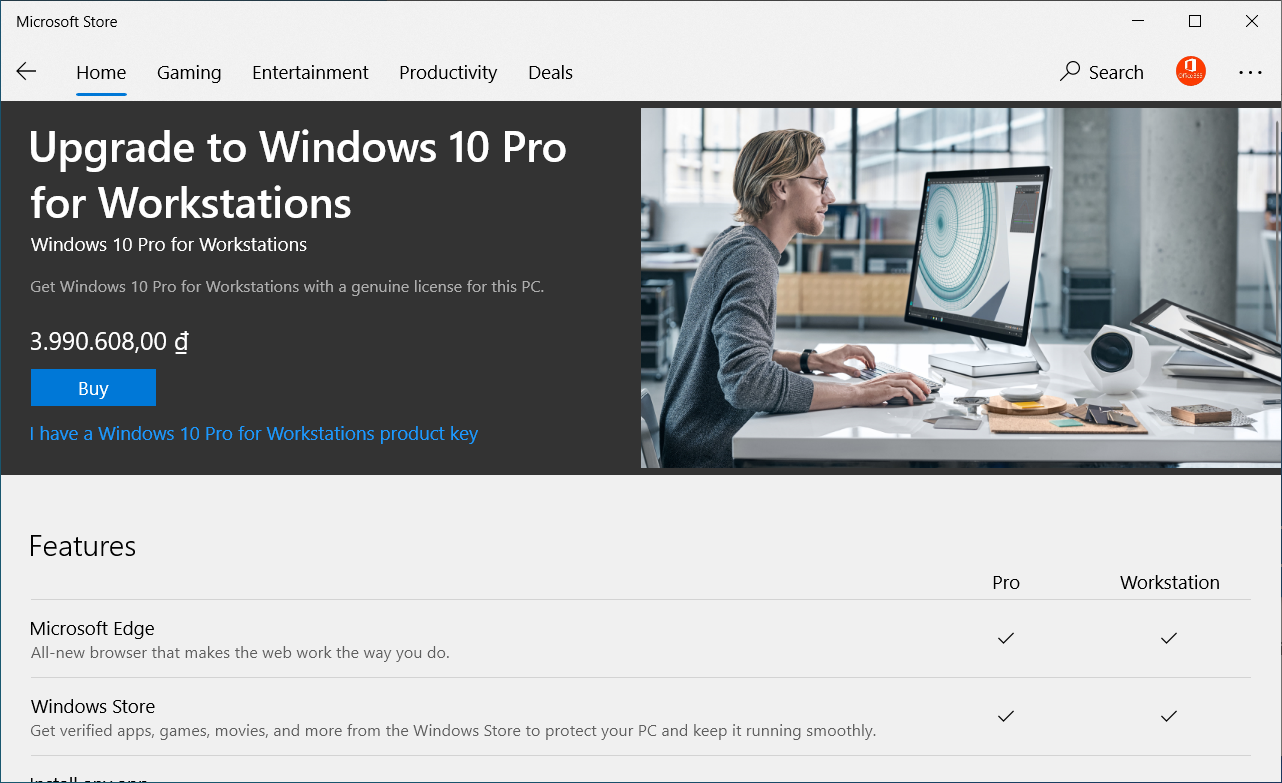 Các phiên bản cho Windows 10 10work11