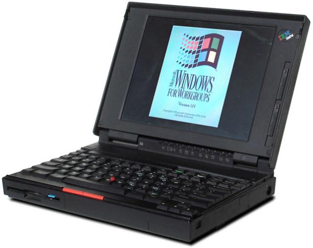 Lịch sử ThinkPad hơn 25 năm: từ Trái đất lên Không gian 40742612
