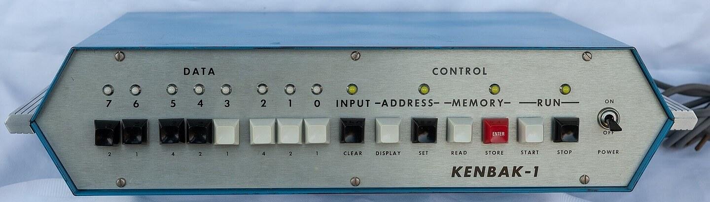 Giá cả của máy tính đã thay đổi như thế nào từ năm 1971?  Kenbak12
