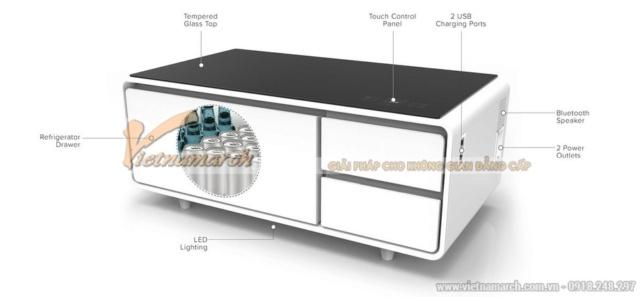 SOBRO vs VIOMI - bản thiết kế năm 2016 với bản nhái năm 2018 cho bàn trà công nghệ cao Mau-ba12