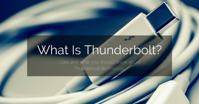 Thunderbolt 3 và tương lai Thuder10