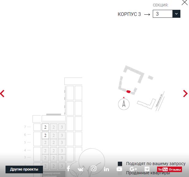 """Открыт основной сайт ЖК """"Нормандия"""" с выбором квартир - Страница 9 3310"""