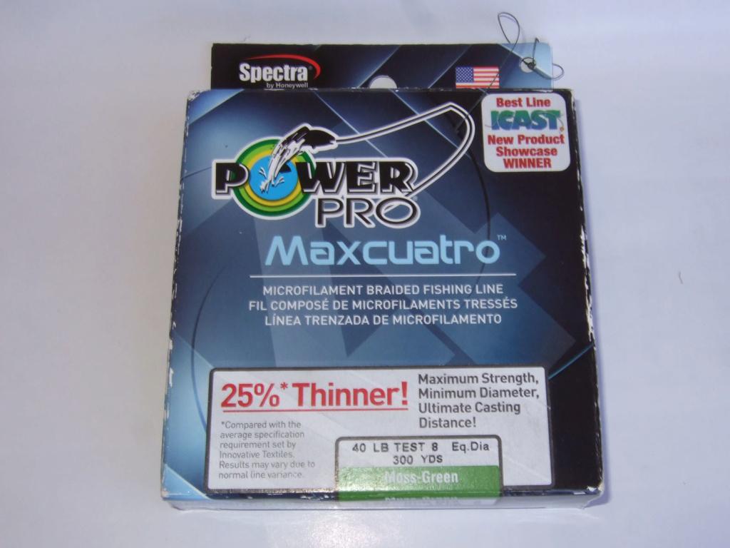 Плетено влакно Power Pro MAXCUATRO 40lb 300yds Maxkua10