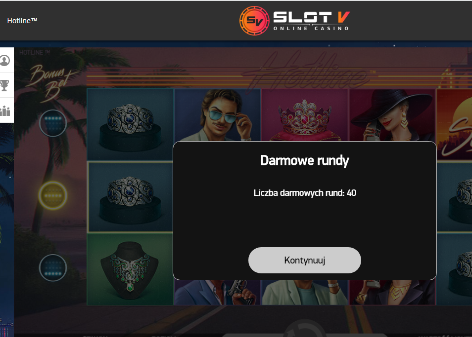 SlotV Casino - darmowe promocje Slotv110