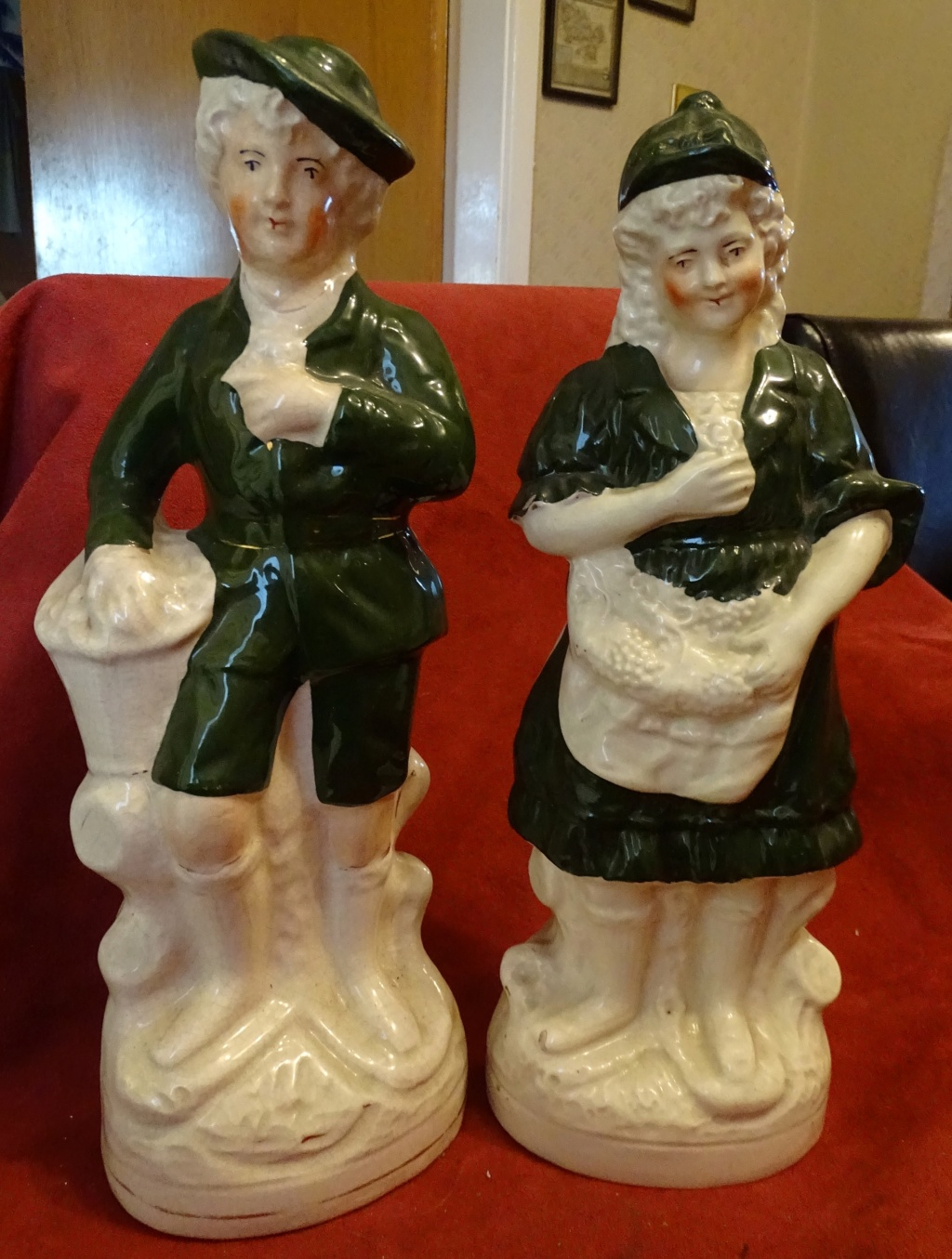 Pair of Large Figurines -  590a10